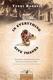 Cover of: In Everything Give Thanks | Terry Barnes