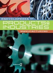 Cover of: Encyclopedia of Products & Industries |