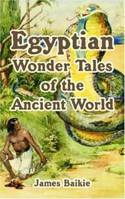 Cover of: Egyptian Wonder Tales of the  Ancient World