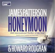 Cover of: Honeymoon | James Patterson