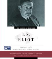 Cover of: T.S. Eliot | T. S. Eliot