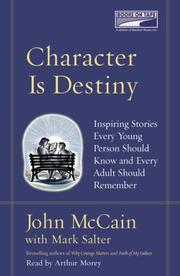 Cover of: Character is destiny