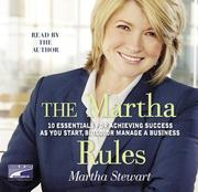 Cover of: The Martha 10 Essentials for Achieving Success as you Start, Build, or Manage your Business