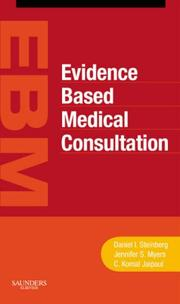 Cover of: Evidence based medical consultation