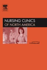 Cover of: Wound Care, An Issue of Nursing Clinics (The Clinics: Nursing) | Barbara Pieper