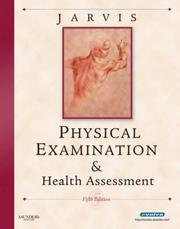 Cover of: Physical Examination & Health Assessment