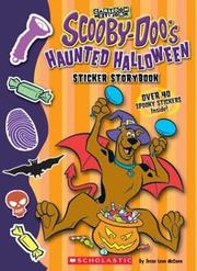 Cover of: Scooby-doo Halloween Sticker Storybook (Scooby-Doo) | Jesse Leon McCann