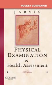 Cover of: Pocket Companion for Physical Examination & Health Assessment