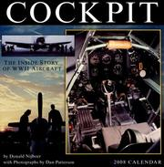Cover of: Cockpit 2008 Wall Calendar