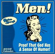 Cover of: Men! Proof that God Has a Sense of Humor 2008 Wall Calendar | Sellers Publishing