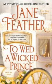 Cover of: To wed a wicked prince