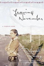 Cover of: Leaving November (Clayburn Novels Series #2)