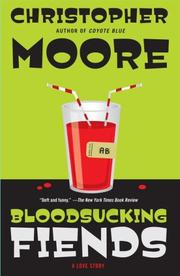 Cover of: Bloodsucking Fiends | Christopher Moore