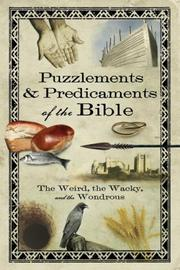 Cover of: Puzzlements & Predicaments of the Bible