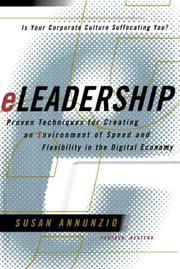 Cover of: Eleadership