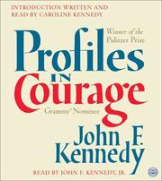 Cover of: Profiles in Courage CD