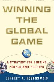 Cover of: Winning the Global Game | Jeffrey Rosensweig