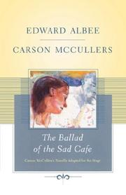 Cover of: The Ballad of the Sad Cafe | Edward Albee