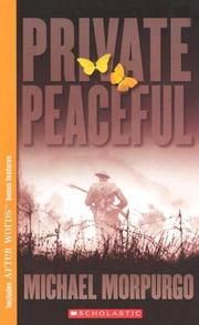Cover of: Private Peaceful