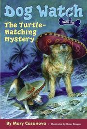 Cover of: The Turtle-Hatching Mystery (Dog Watch)