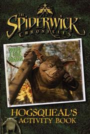 Cover of: Hogsqueal's Activity Book (The Spiderwick Chronicles)