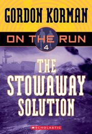 Cover of: On The Run: The Stowaway Solution (On The Run)