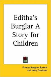 Cover of: Editha