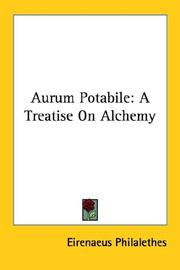Cover of: Aurum Potabile