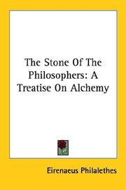 Cover of: The Stone of the Philosophers
