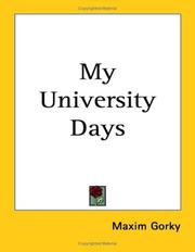 Cover of: My University Days