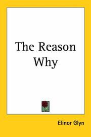 Cover of: The Reason Why | Elinor Glyn