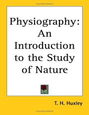 Physiography by Thomas Henry Huxley