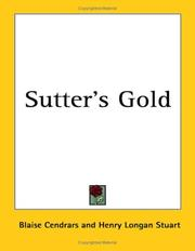 Cover of: Sutter's gold