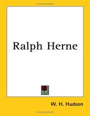 Cover of: Ralph Herne
