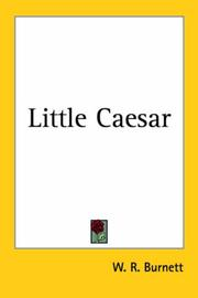 Cover of: Little Caesar