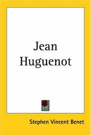 Cover of: Jean Huguenot