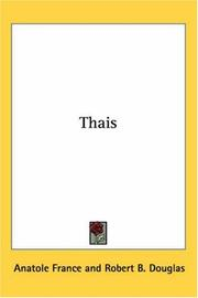 Thais by Anatole France