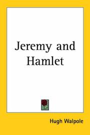 Cover of: Jeremy and Hamlet