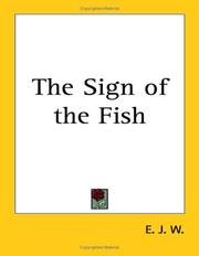 Cover of: The Sign of the Fish | E. J. W.