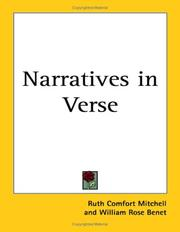 Cover of: Narratives in Verse