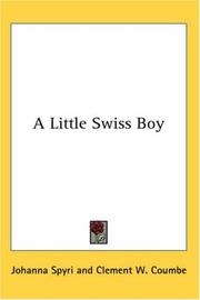 Cover of: A Little Swiss Boy