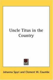 Cover of: Uncle Titus in the Country