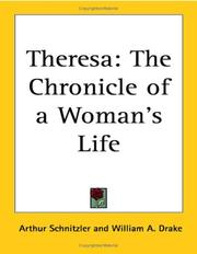 Cover of: Theresa: the chronicle of a woman's life