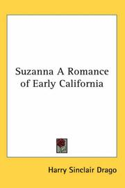 Cover of: Suzanna A Romance of Early California