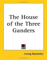 Cover of: The House of the three ganders