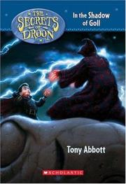 Cover of: In the Shadow of Goll (Secrets of Droon) (Secrets of Droon)