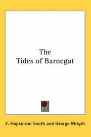 Cover of: The Tides Of Barnegat | Francis Hopkinson Smith