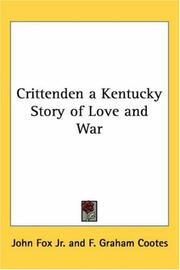 Cover of: Crittenden | John Fox