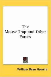 Cover of: The mouse-trap, and other farces