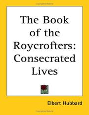 Cover of: The book of the Roycrofters